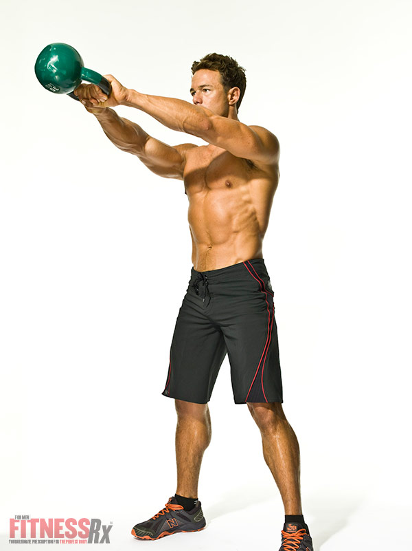 The Kettlebell Revolution Two-Arm Kettlebell Swing
