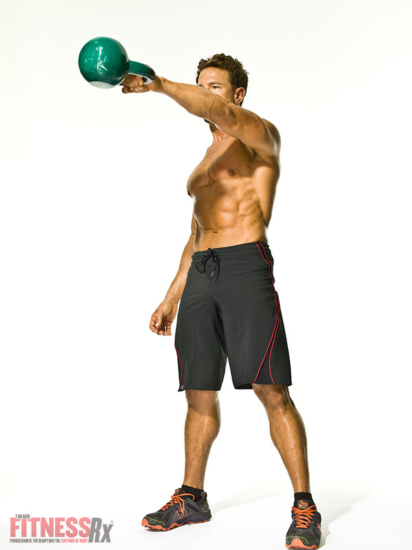 The Kettlebell Revolution One-Arm Kettlebell Swings