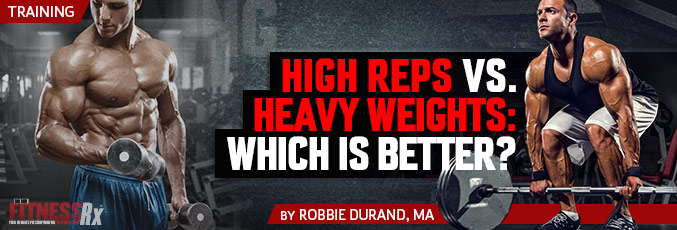 High Reps vs. Heavy Weights: Which Is Better?