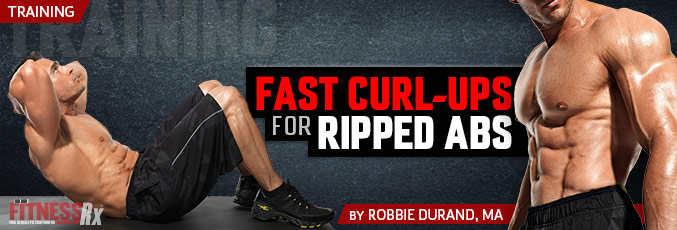 Fast Curl-Ups for Ripped Abs!