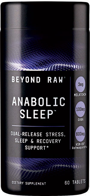 ANABOLIC SLEEP tablets from BEYOND RAW