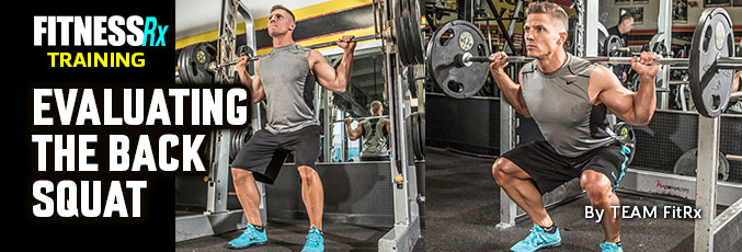Evaluating the Back Squat