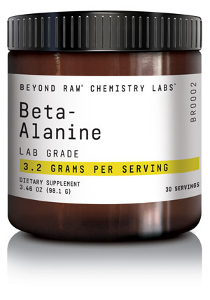 CHEMISTRY LABS™ line from BEYOND RAW® - Beta-alanine