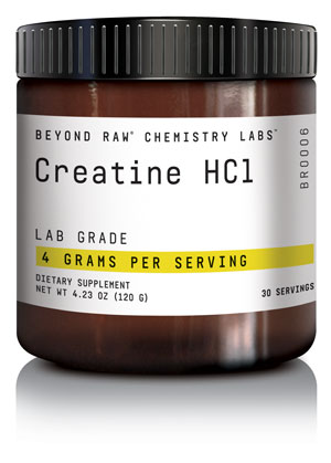 CHEMISTRY LABS™ line from BEYOND RAW® - Creatine HCL