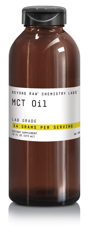 CHEMISTRY LABS™ line from BEYOND RAW® - MCT oil