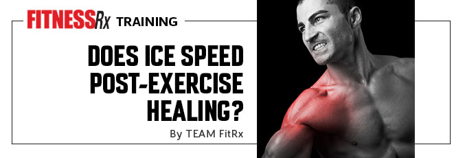 Does Ice Speed Post-Exercise Healing?