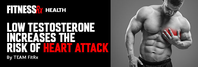 Low Testosterone Increases the Risk of Heart Attack