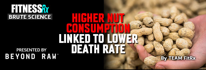 Higher Nut Consumption Linked to Lower Death Rate