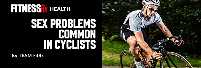Sex Problems Common in Cyclists