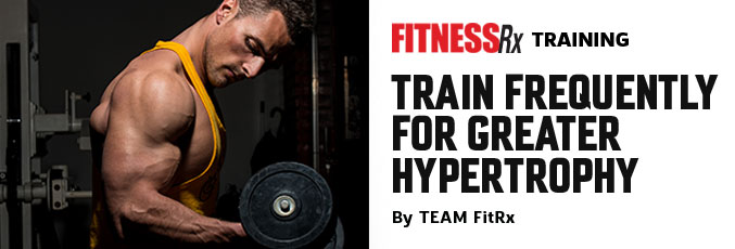Train Frequently for Greater Hypertrophy