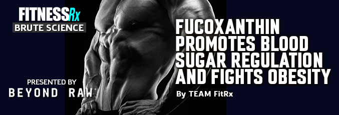 Fucoxanthin Promotes Blood Sugar Regulation and Fights Obesity