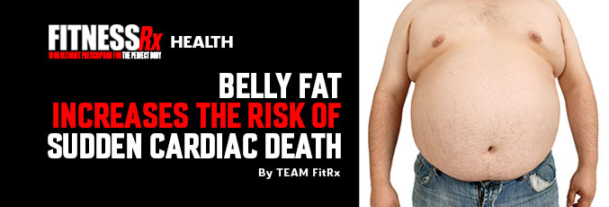 Belly Fat Increases the Risk of Sudden Cardiac Death