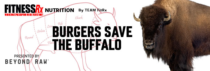 Burgers Save the Buffalo