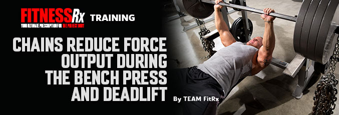 Chains Reduce Force Output During the Deadlift