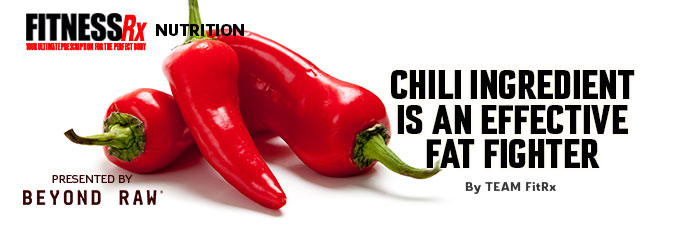 Chili Ingredient is an Effective Fat Fighter