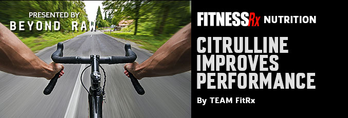 Citrulline Improves Performance