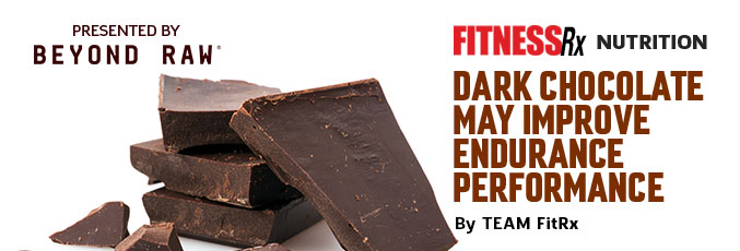 Dark Chocolate May Improve Endurance Performance