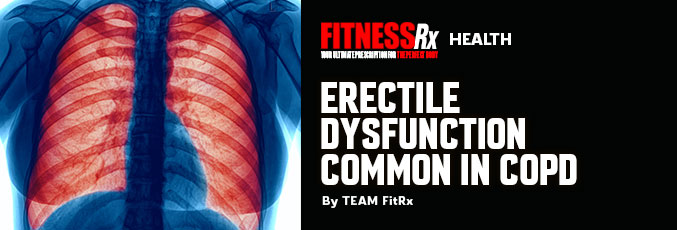 Erectile Dysfunction Common in COPD