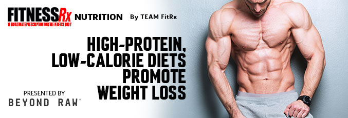 High-Protein, Low-Calorie Diets Promote Weight Loss