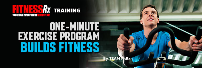 One-Minute Exercise Program Builds Fitness