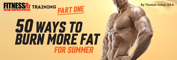 50 Ways to Burn More Fat