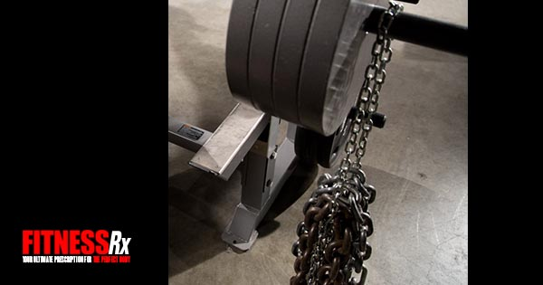 Chain Training Promotes Strength Fitnessrx For Men