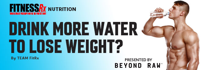 Drink More Water to Lose Weight?