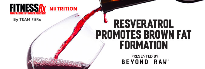 Resveratrol Promotes Brown Fat Formation