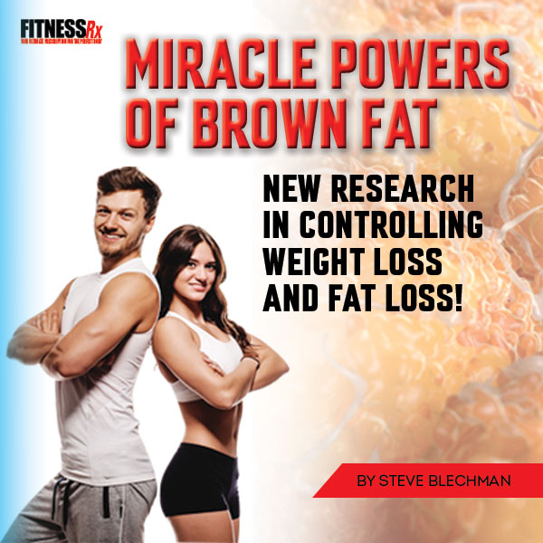 The Miracle Powers of Brown Fat! - New Research In Controlling Weight Loss & Fat Loss!