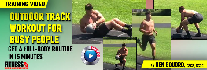 Outdoor Track Workout For Busy People