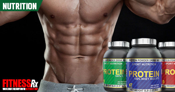 Protein for Lean Muscle and Fat Loss - FitnessRX for Men