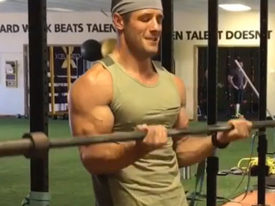 Get Bigger Pecs and Biceps - With the 'Beach Muscles' Circuit