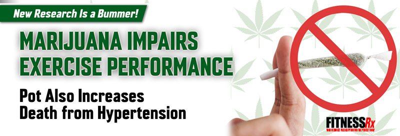 Marijuana Impairs Exercise Performance