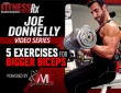 5 Exercises For Bigger Biceps With Joe Donnelly