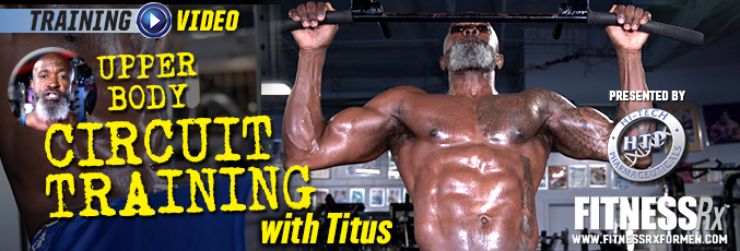 Upper Body Circuit Training with Titus