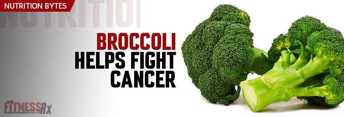 Broccoli Helps Fight Cancer