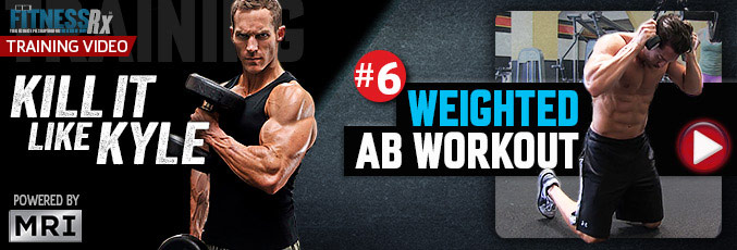Kill It Like Kyle: Weighted Ab Workout