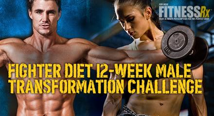 12week male transformation challenge week 1  fitnessrx