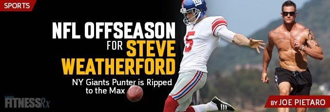 No NFL Offseason For Steve Weatherford