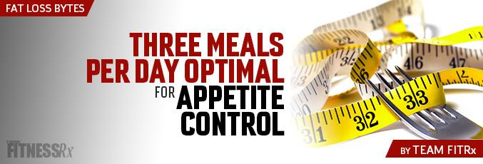 Three Meals Per Day Optimal