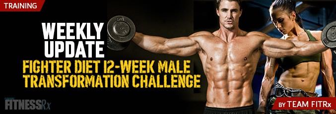 12-Week Male Transformation: Week 8 Update