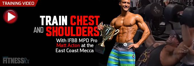 Train Chest and Shoulders