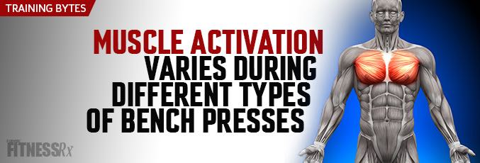Muscle Activation Varies During Different Types of Bench Presses