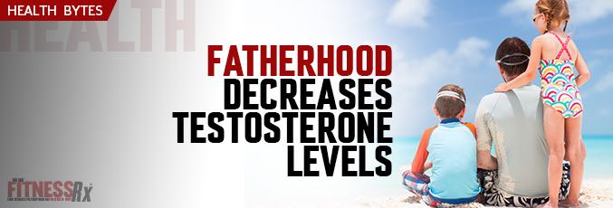 Fatherhood Decreases Testosterone Levels