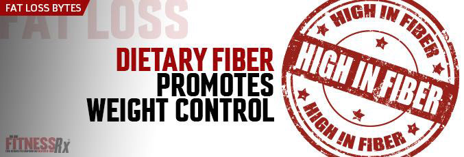 Dietary Fiber Promotes Weight Control