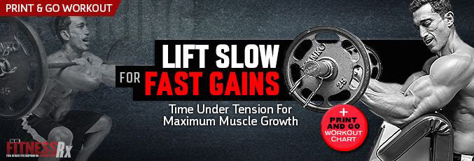 Lift Slow for Fast Gains