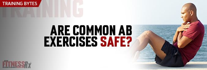 Are Common Ab Exercises Safe?