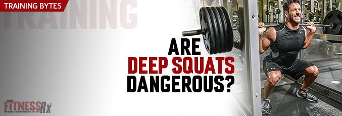 Are Deep Squats Dangerous?