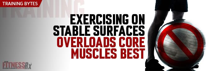 Exercising On Stable Surfaces