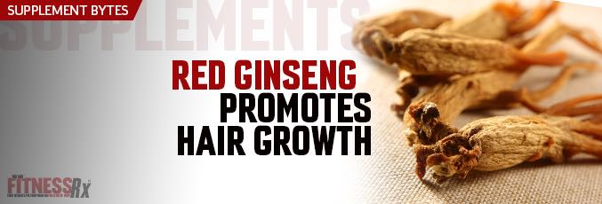 Red Ginseng Promotes Hair Growth